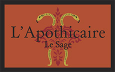 Apothicaire logo orange